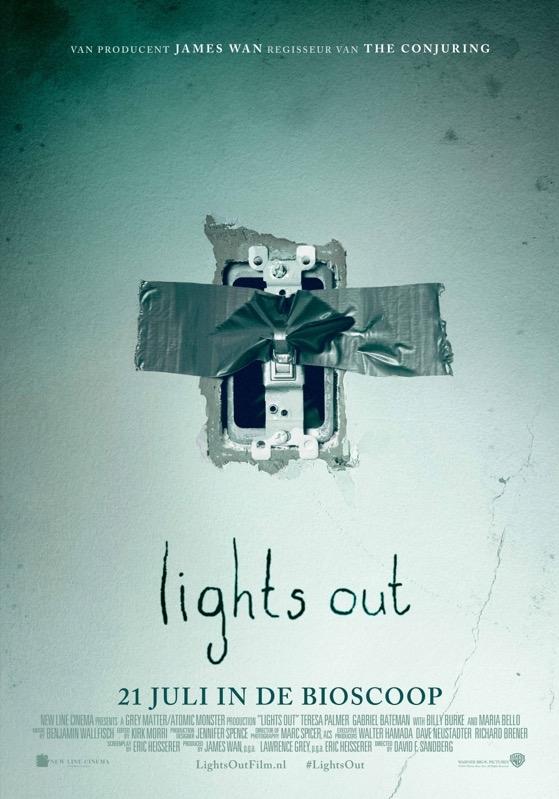 Lights Out poster, © 2013 Warner Bros.