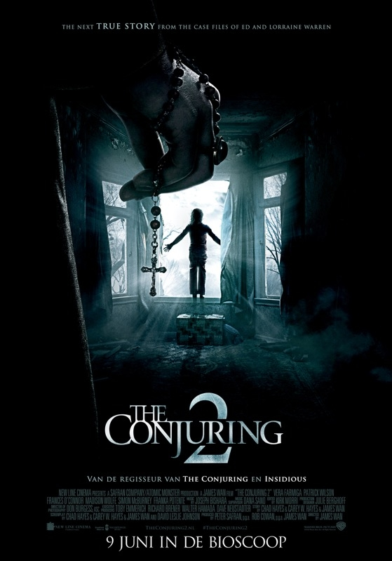 The Conjuring 2 poster, © 2016 Warner Bros.