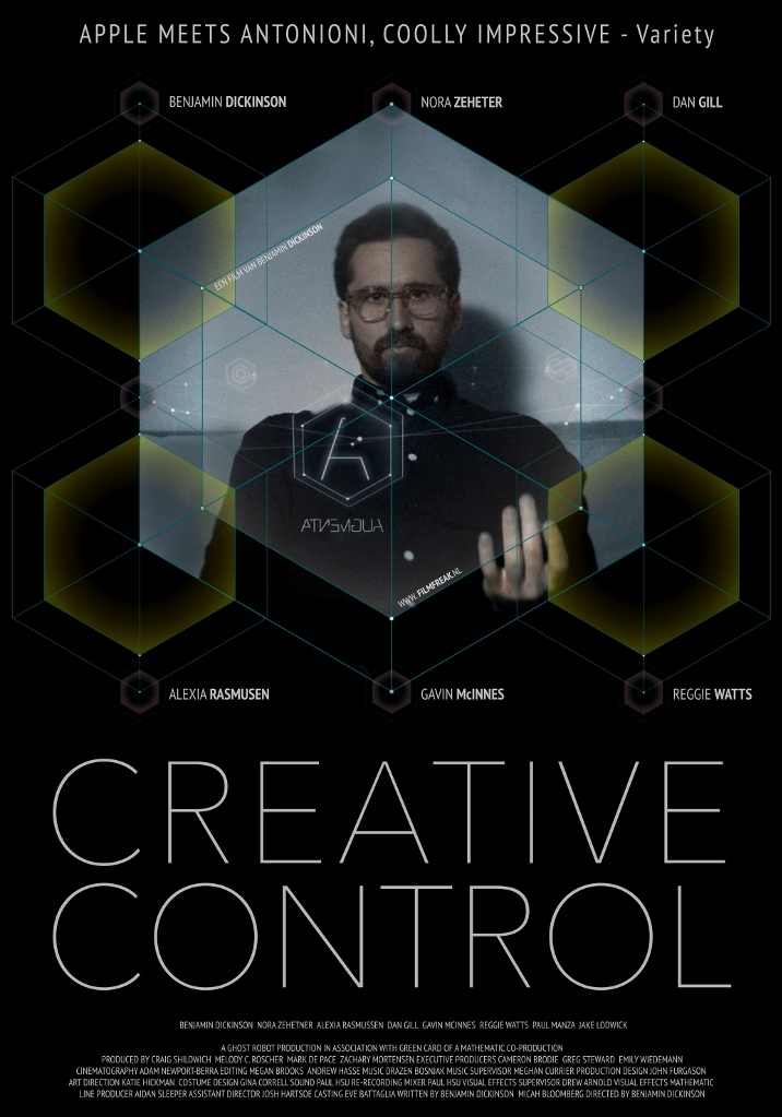 Creative Control poster, © 2015 Filmfreak