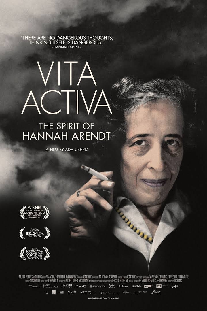 Vita Activa: The Spirit of Hannah Arendt poster, copyright in handen van productiestudio en/of distributeur