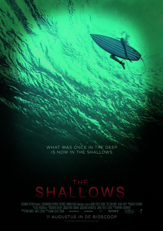 The Shallows poster, © 2016 Universal Pictures International
