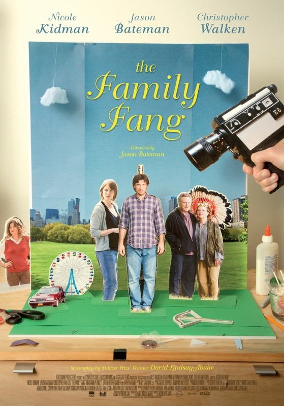The Family Fang poster, © 2015 Dutch FilmWorks