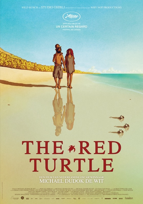The Red Turtle poster, © 2016 Lumière