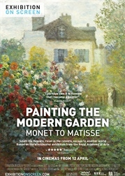 EOS: Painting the Modern Garden - Monet to Matisse poster, copyright in handen van productiestudio en/of distributeur