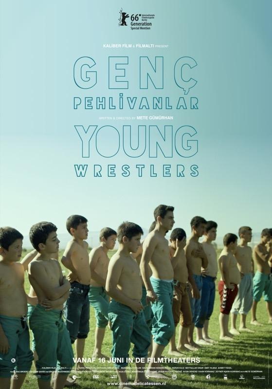 Genç Pehlivanlar poster, © 2016 Cinema Delicatessen