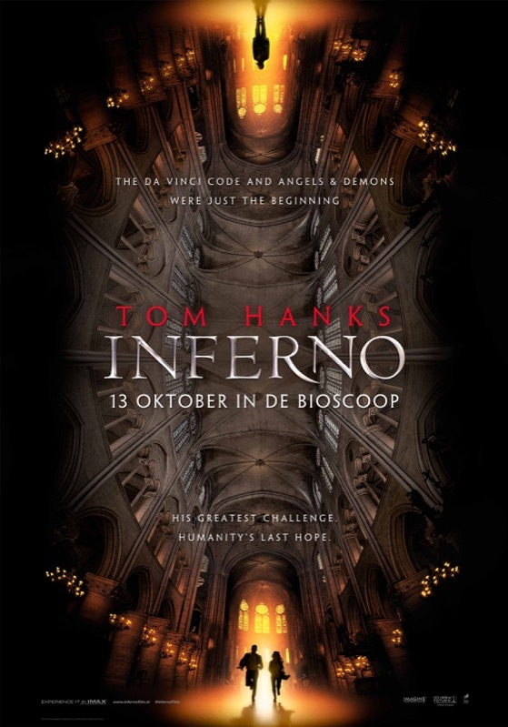 Inferno poster, © 2016 Universal Pictures International