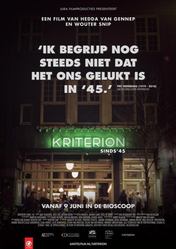 Kriterion - sinds '45 poster, copyright in handen van productiestudio en/of distributeur