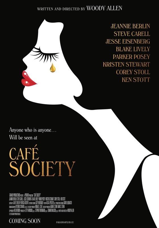 Café Society poster, © 2016 Paradiso