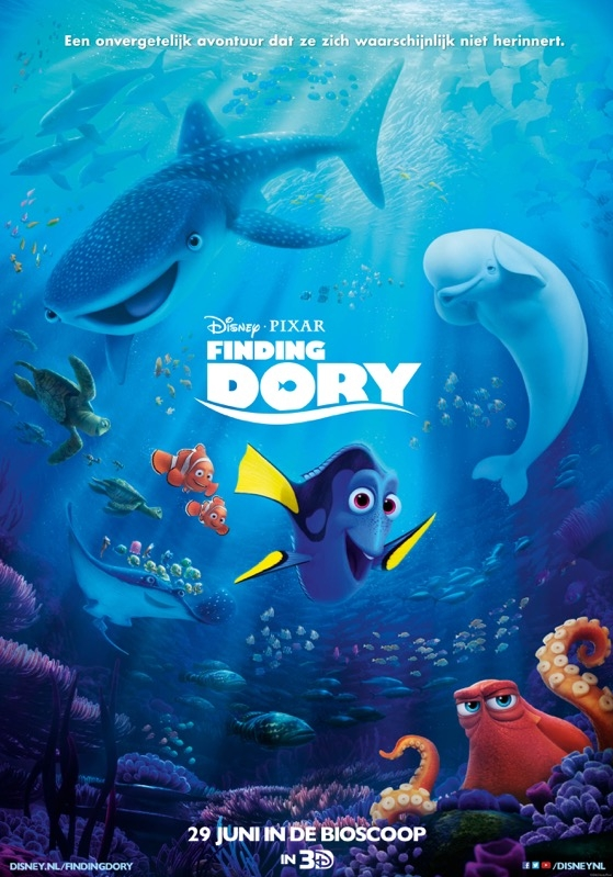 Finding Dory poster, © 2016 Walt Disney Pictures