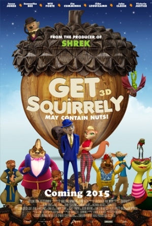 Get Squirrely poster, copyright in handen van productiestudio en/of distributeur