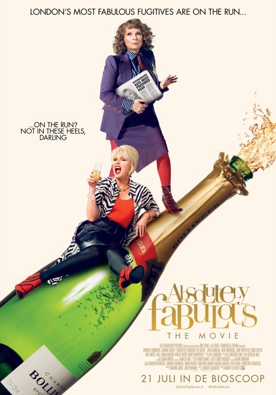 Absolutely Fabulous: The Movie poster, © 2016 20th Century Fox