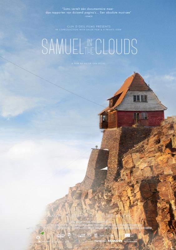 Samuel in the Clouds poster, copyright in handen van productiestudio en/of distributeur