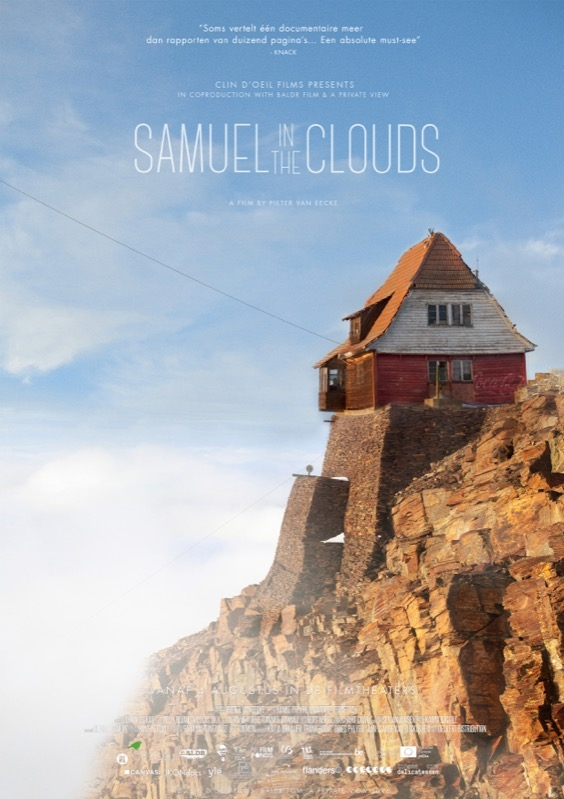 Samuel in the Clouds poster, copyright in handen van productiestudio en/of distributeur