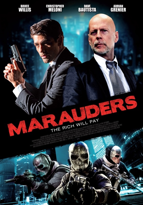 Marauders poster, © 2016 Dutch FilmWorks