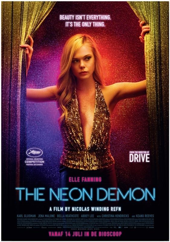 The Neon Demon poster, © 2016 Cinéart
