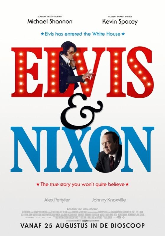 Elvis & Nixon poster, © 2015 September
