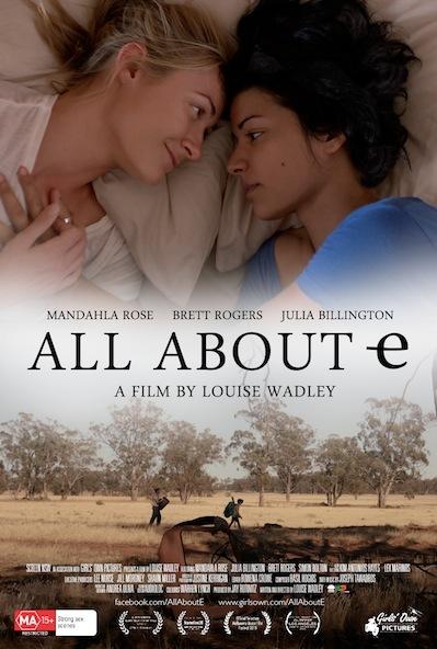 All About E poster, copyright in handen van productiestudio en/of distributeur