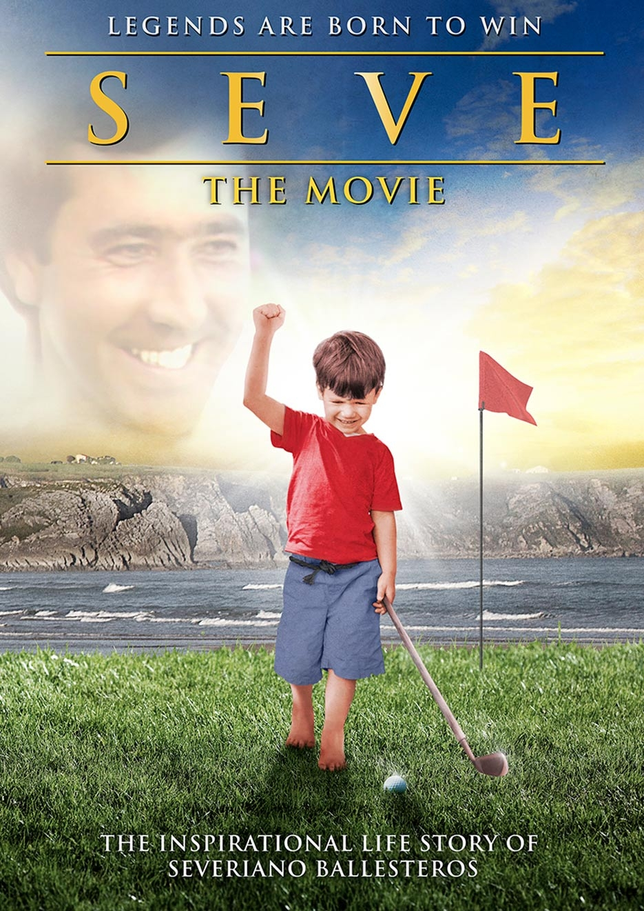 Seve the Movie poster, copyright in handen van productiestudio en/of distributeur