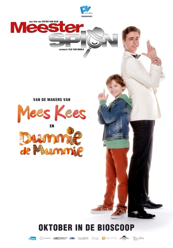 MeesterSpion poster, © 2016 Entertainment One Benelux