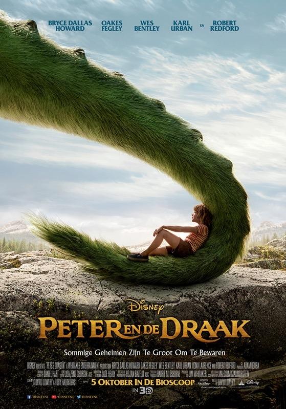 Pete's Dragon poster, © 2016 Walt Disney Pictures