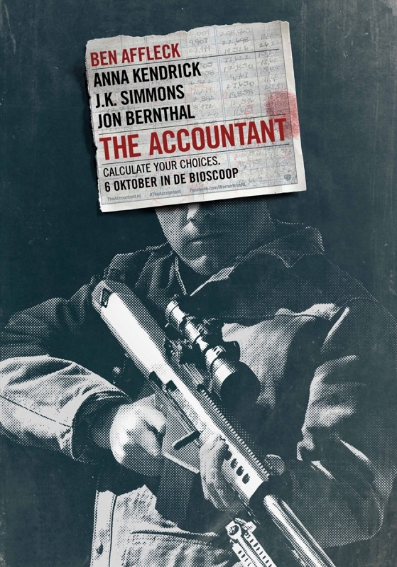 The Accountant poster, © 2016 Warner Bros.