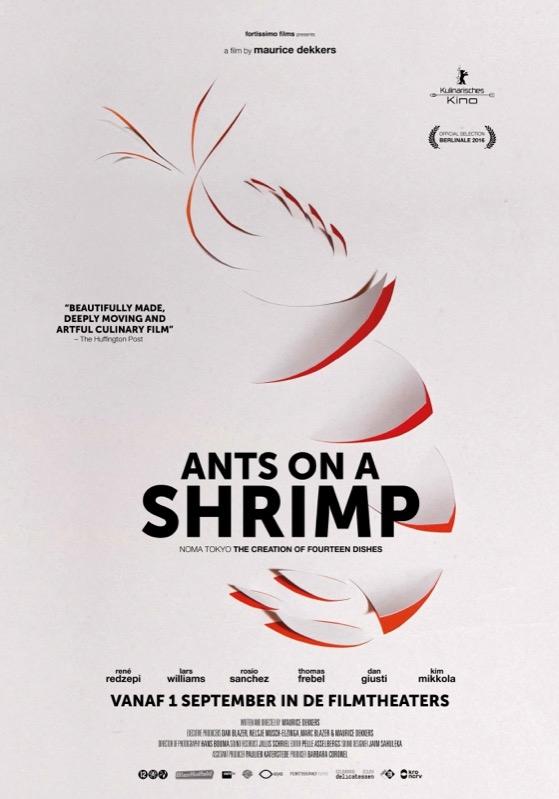Ants on a Shrimp poster, © 2016 Cinema Delicatessen