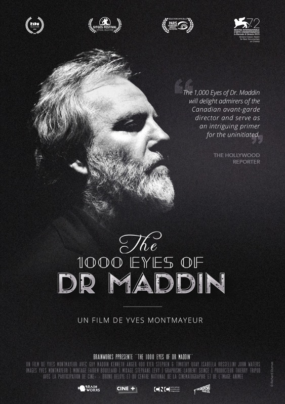 The 1000 Eyes of Dr. Maddin poster, © 2015 Eye Film Instituut