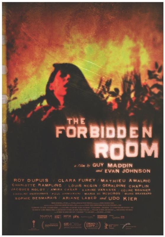 The Forbidden Room poster, © 2015 Eye Film Instituut
