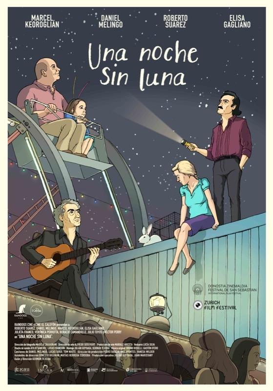Una noche sin luna poster, © 2014 Eye Film Instituut