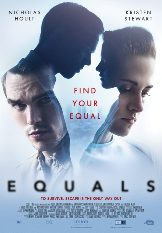 Equals poster, © 2015 Entertainment One Benelux