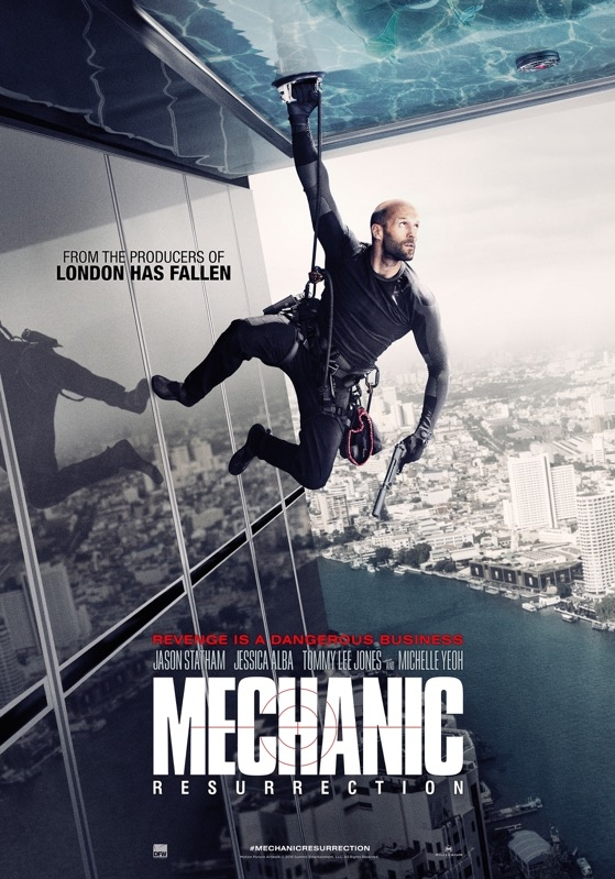 Mechanic: Resurrection poster, © 2016 Dutch FilmWorks