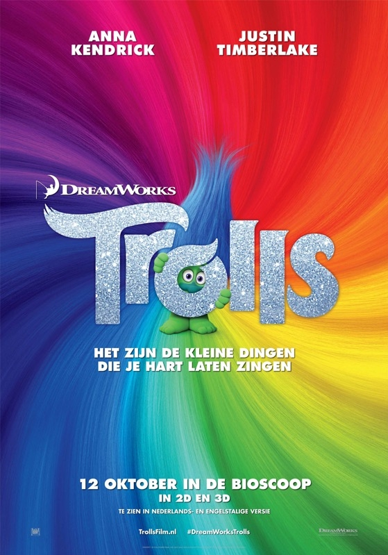 Trolls poster, © 2016 20th Century Fox