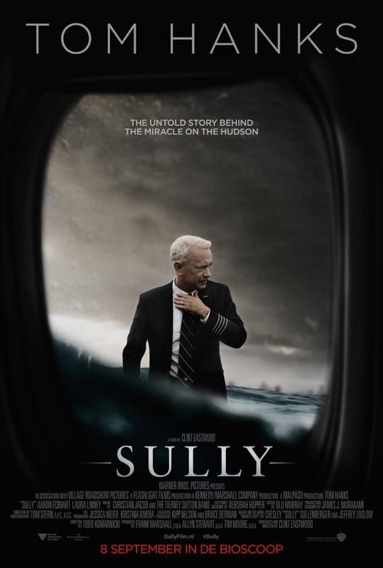 Sully poster, © 2016 Warner Bros.