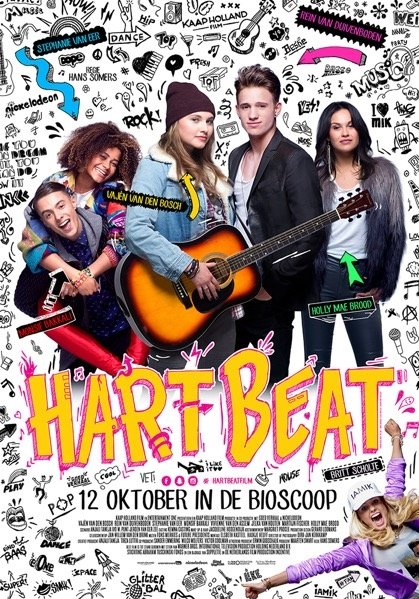 Hart Beat poster, © 2016 Entertainment One Benelux