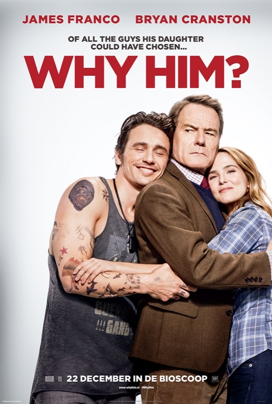 Why Him? poster, © 2016 20th Century Fox