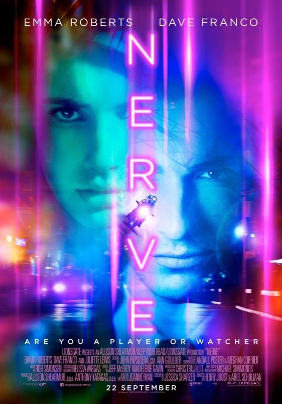 Nerve poster, © 2016 Independent Films