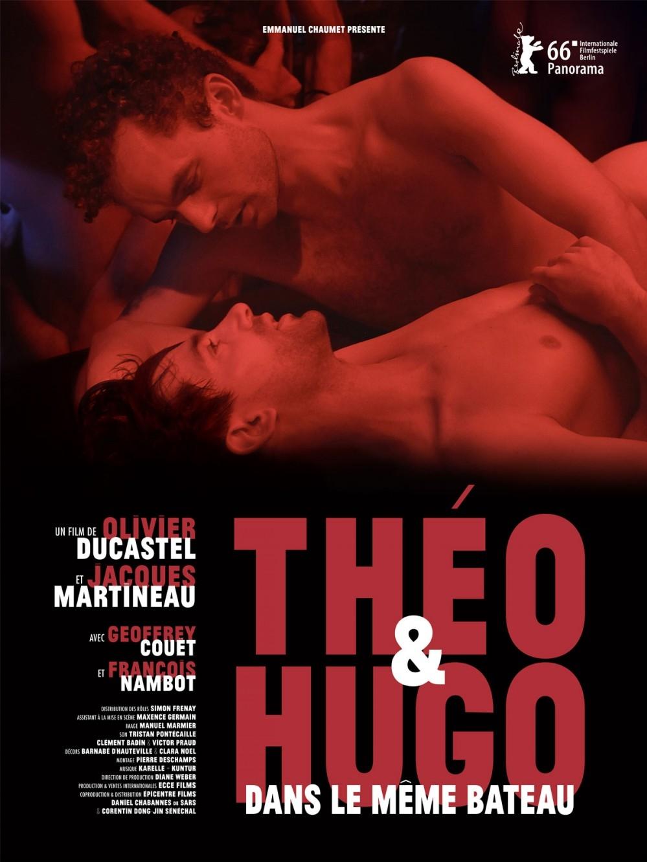 Théo et Hugo dans le même bateau poster, copyright in handen van productiestudio en/of distributeur