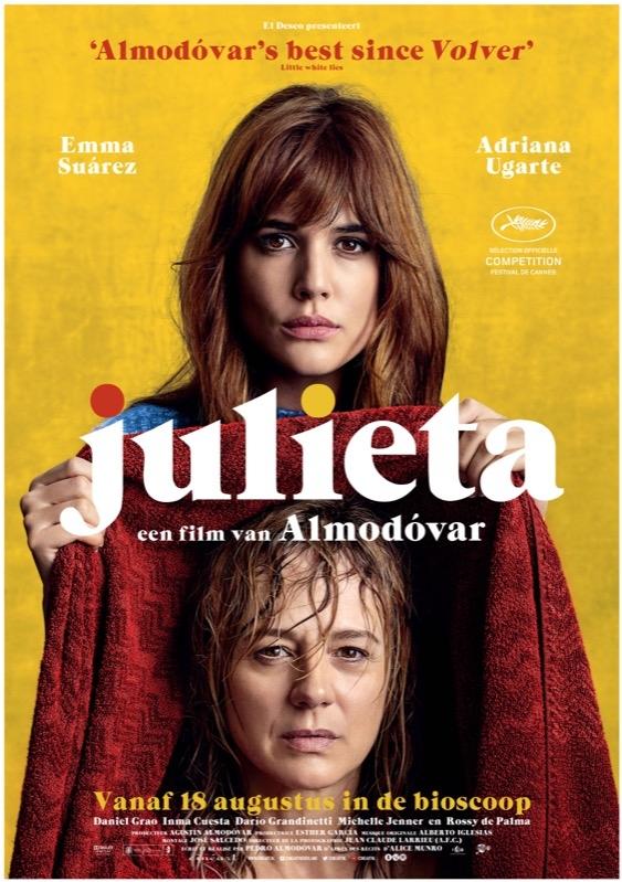 Julieta poster, © 2016 Cinéart