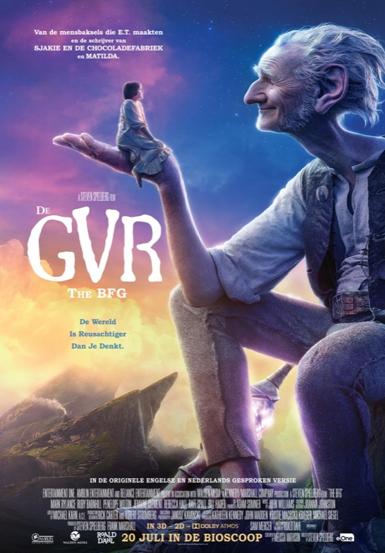 The BFG poster, © 2016 Entertainment One Benelux