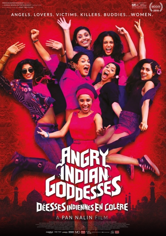 Angry Indian Goddesses poster, © 2015 Cinemien