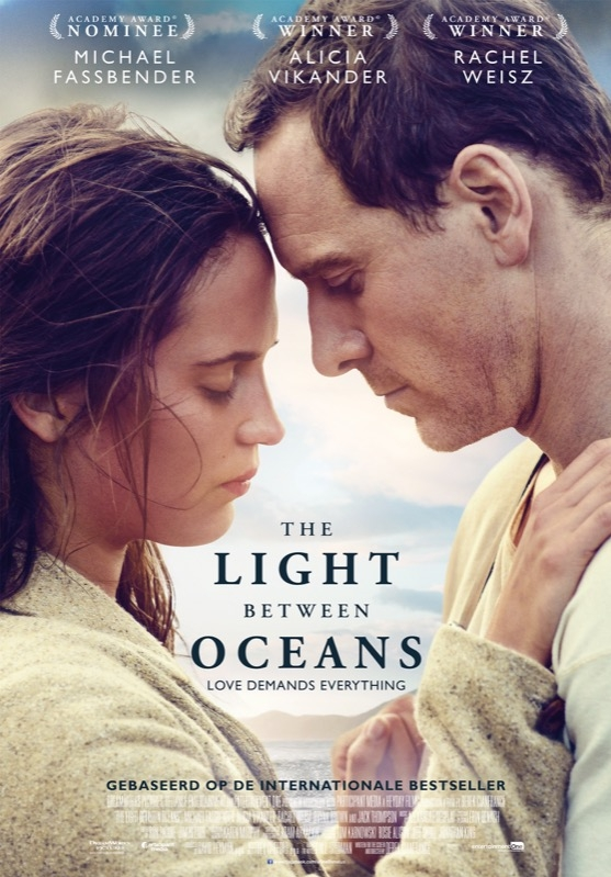 The Light Between Oceans poster, © 2016 Entertainment One Benelux