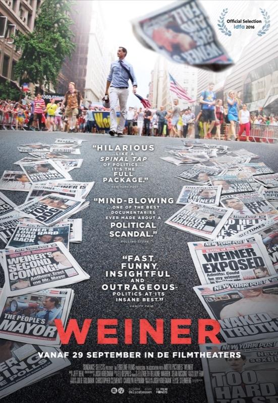 Weiner poster, © 2016 Cinema Delicatessen