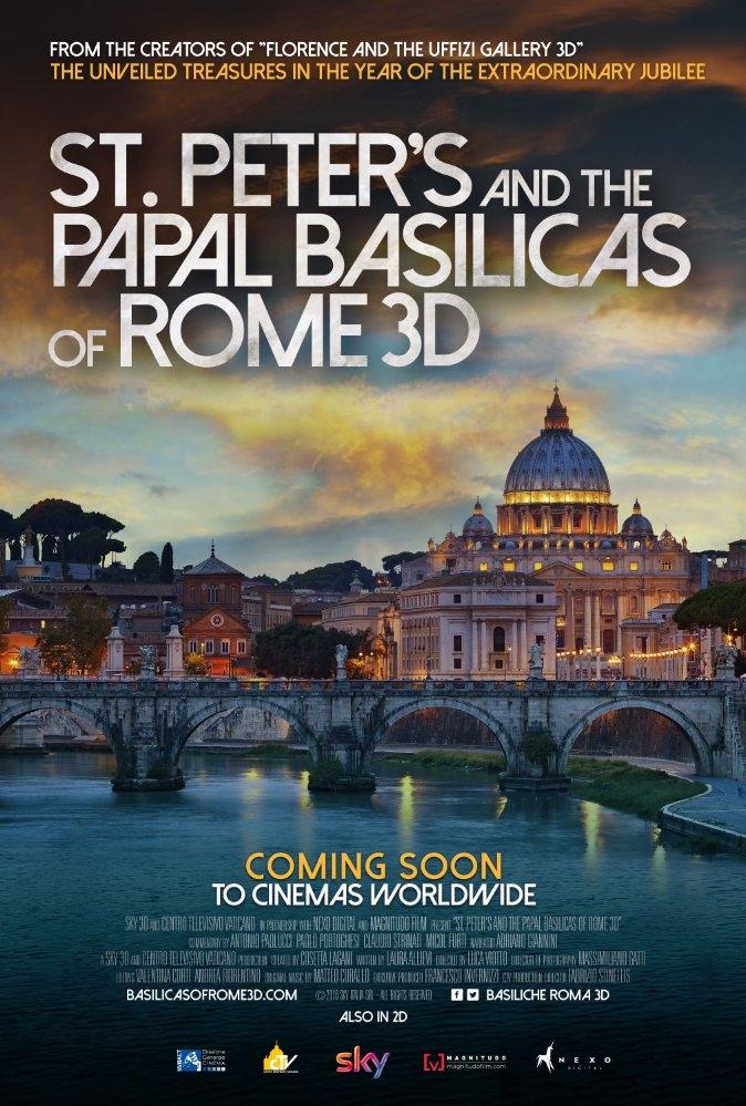 St. Peter's and the Papal Basilicas of Rome poster, copyright in handen van productiestudio en/of distributeur