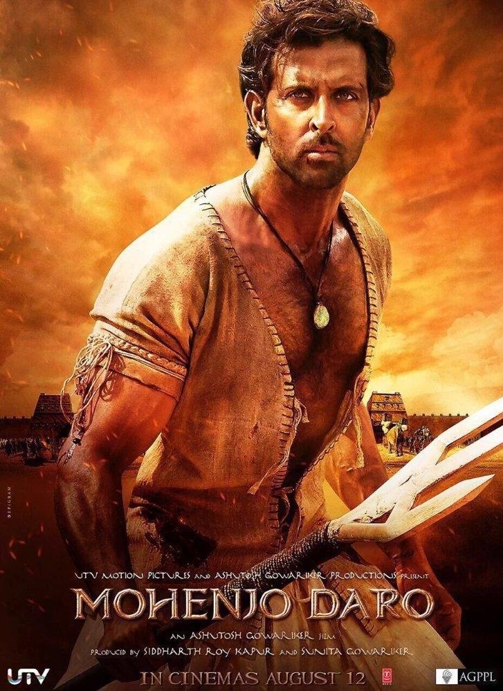Mohenjo Daro poster, copyright in handen van productiestudio en/of distributeur