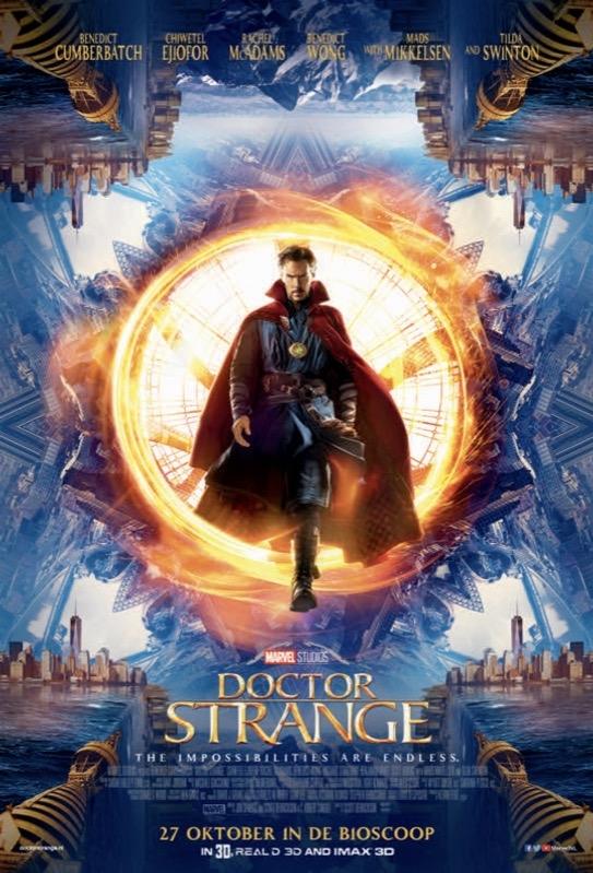 Doctor Strange poster, © 2016 Walt Disney Pictures