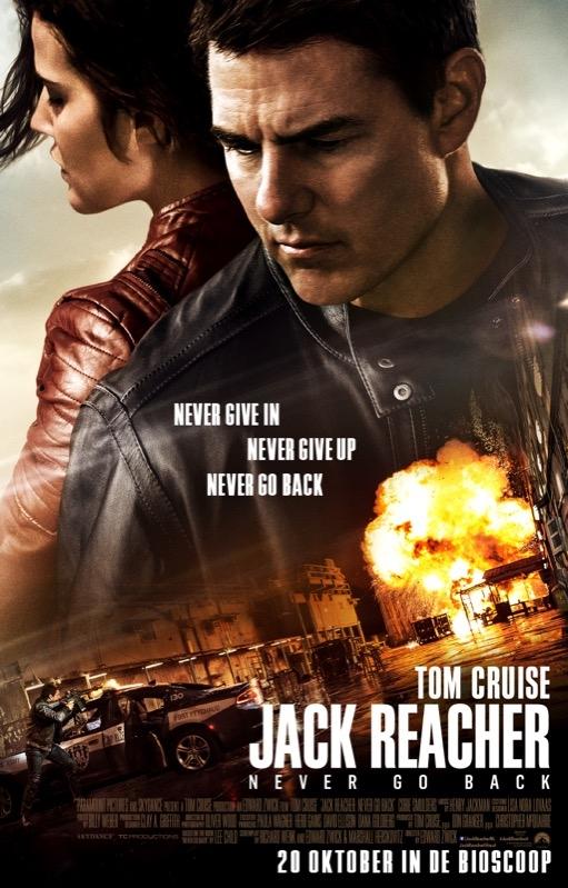Jack Reacher: Never Go Back poster, © 2016 Universal Pictures International