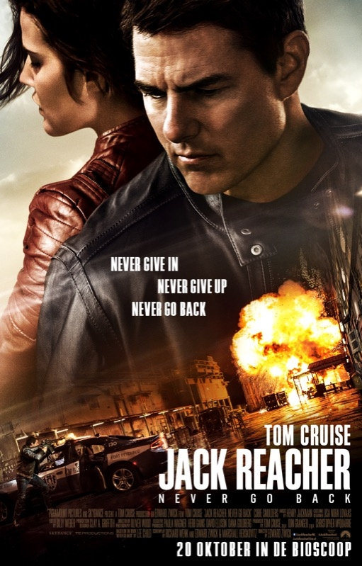 Jack Reacher: Never Go Back poster, © 2016 Universal Pictures International