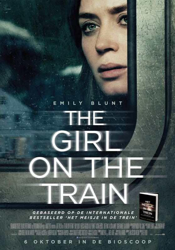 The Girl on the Train poster, © 2016 Entertainment One Benelux