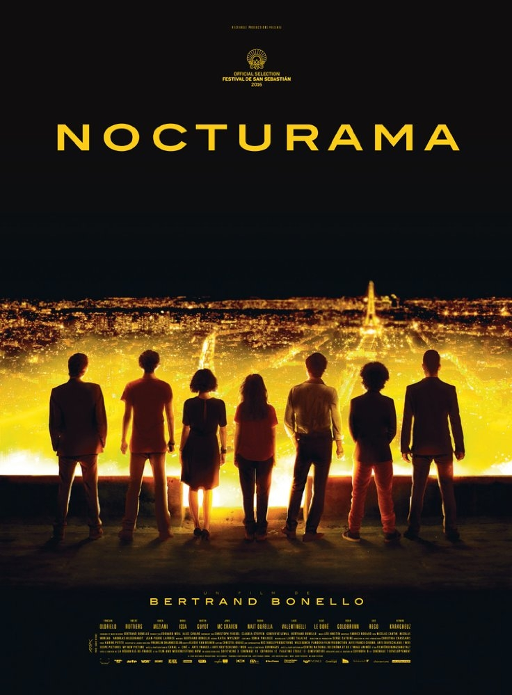 Nocturama poster, copyright in handen van productiestudio en/of distributeur