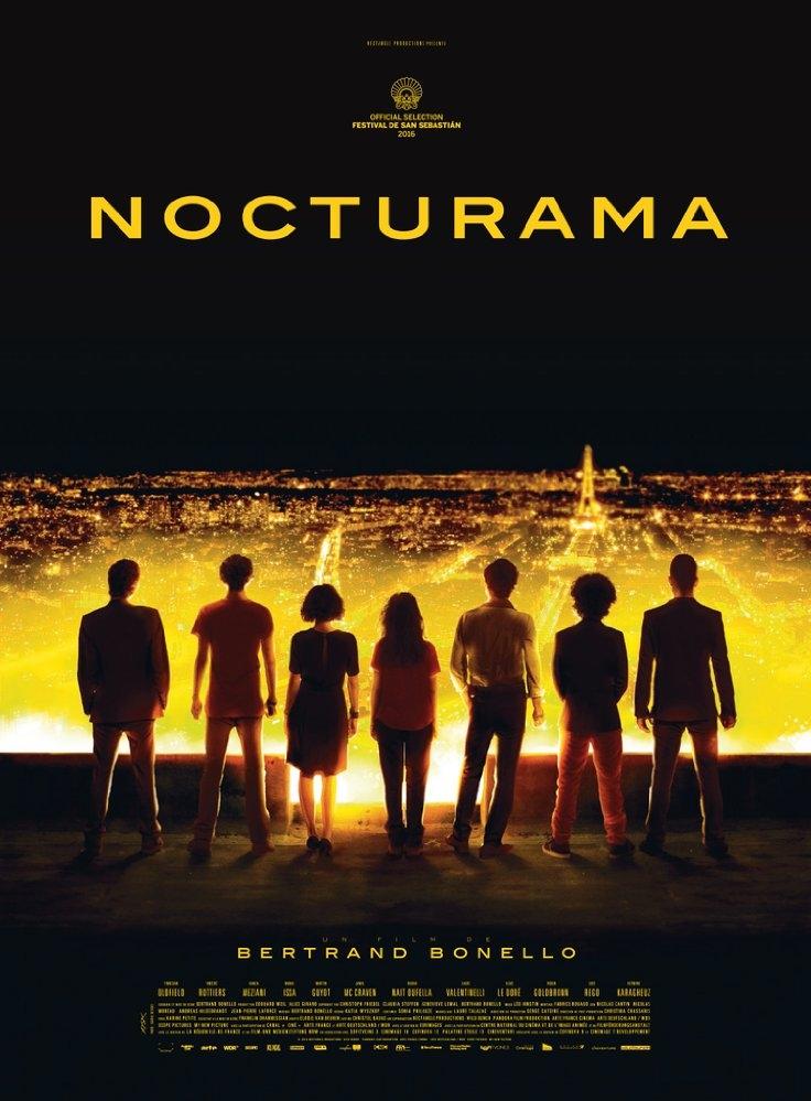 Nocturama poster, © 2016 Cinéart
